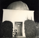 The City College observatory was designed in the '30s by student Henry Hughes.