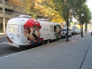 Nintendo's Airstream Tour made a stop at the Sheraton Hotel in Downtown Sacramento for a private press event. Daniel Wilson | daniel.wilson8504@yahoo.com