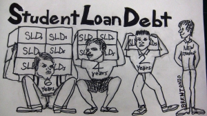 Sac City College, Daniel Wilson, student loan debt