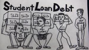 Sac City College, Daniel Wilson, student loan debt