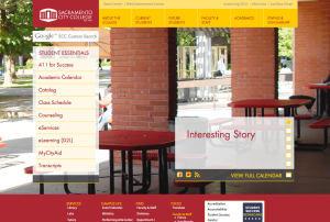 City College's new website will feature a more organized layout and a dynamic home page, which will display news stories and important campus information.