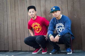 Johnny Sam, 23, and Daniel Ocampo, 22, created the apparel company Stayseen Collective just a couple of months ago.