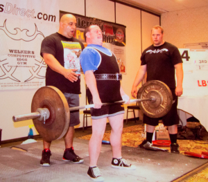 John Masterson not only lifts weights in the World Association of Benchers and deadlifters but also lifts spirits of those around him. Photo courtesy the Masterson family.